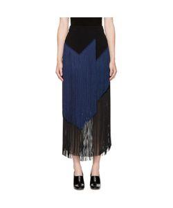Stella Mccartney | And Navy Veronica Fringe Skirt