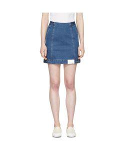 SJYP | Denim Button Miniskirt