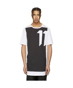11 BY BORIS BIDJAN SABERI | And Block Cut T-Shirt