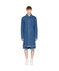 Marques Almeida   Denim Mackintosh Jacket