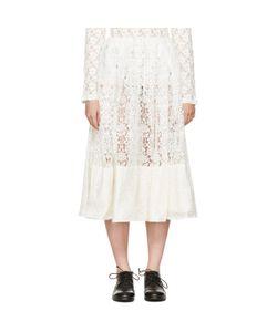 COMME DES GARCONS COMME DES GARCONS   Lace Gathered Skirt