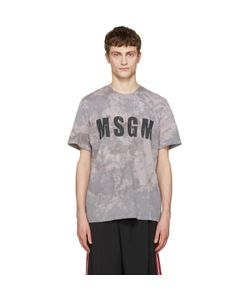 MSGM | Marbled Logo T-Shirt