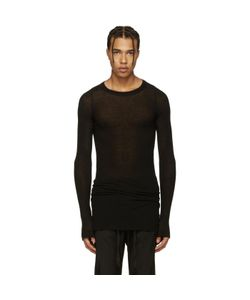 Rick Owens | Ribbed T-Shirt