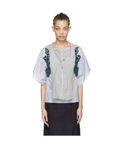 Harikae | And Striped Lace Shirt