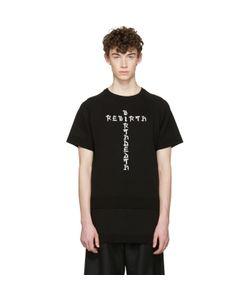 D.Gnak By Kang.D | Jacquard Knit Rebirth T-Shirt