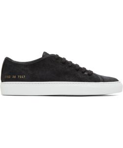 Common Projects | Waxed Suede Tournament Low Sneakers