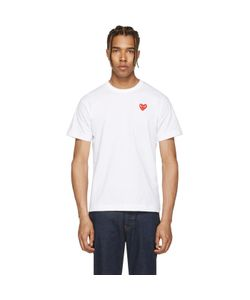 Comme des Gar ons Play | And Heart Patch T-Shirt