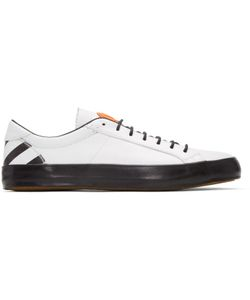 Moncler O | Leather Sneakers