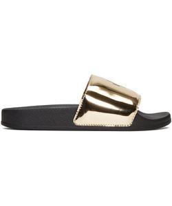 MARCELO BURLON COUNTY OF MILAN   Kelly Pool Slider Sandals