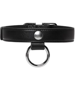 Carven | Leather Buckle Choker