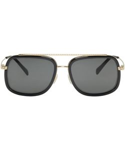 Versace   Pop Chic Greca Aviator Sunglasses