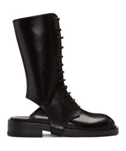 Ann Demeulemeester | Cutout Lace-Up Boots