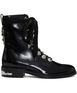 Toga Pulla | Studded Lace-Up Boots