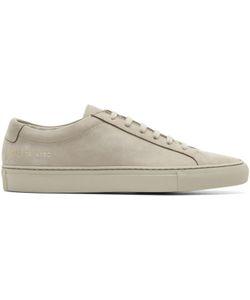 Common Projects   Nubuck Original Achilles Low Sneakers