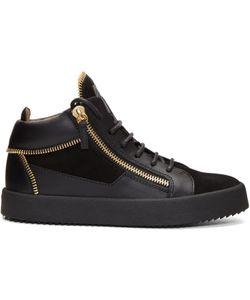Giuseppe Zanotti Design | Suede May London Zip Sneakers