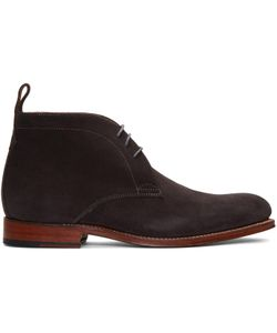 Grenson | Suede Marcus Boots