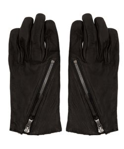 THE VIRIDI-ANNE | Diagonal Zipper Gloves