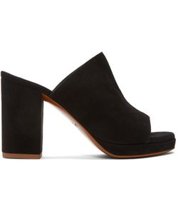 Robert Clergerie   Suede Abrice Mules