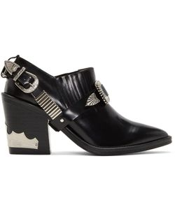 Toga Pulla | Heeled Western Harness Boots