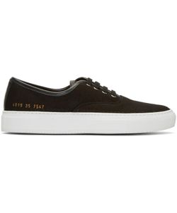 Woman By Common Projects | Canvas Tournament Four Hole Sneakers