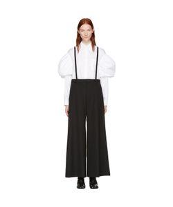 Noir Kei Ninomiya | Studded Suspender Trousers