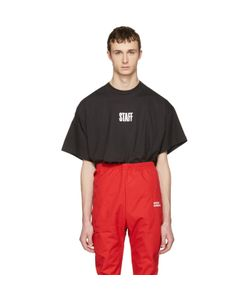 VETEMENTS | Hanes Edition Quick Made Oversized Staff T-Shirt