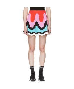 Emilio Pucci   Colorblock Wave Miniskirt