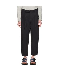 ATTACHMENT | Cotton Belted Trousers