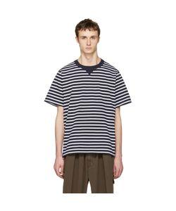 Sacai | Striped Dixie Border T-Shirt