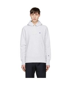 CHAMPION REVERSE WEAVE | Small Logo Hoodie