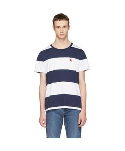 Burberry | And Large Stripe Logo T-Shirt