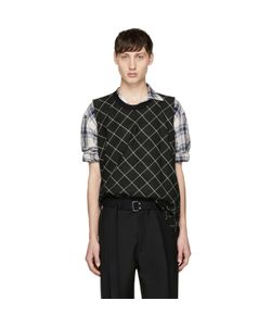 Lanvin | Check Muscle T-Shirt