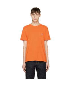 Maison Kitsune | Exclusive Tricolor Fox Patch Pocket T-Shirt