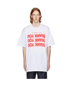 Raf Simons | Thank You Big Fit T-Shirt