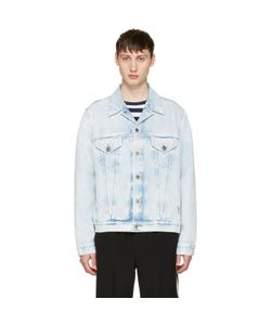 Gucci | Denim Loved Angry Cat Embroidery Jacket