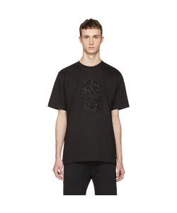 Markus Lupfer | Beaded Skull T-Shirt