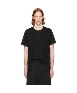 COMME DES GARCONS HOMME PLUS | Open Front Strap T-Shirt