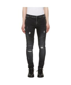 Balmain | Distressed Slim Jeans