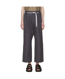 Sasquatchfabrix | And Navy Striped 50s Trousers
