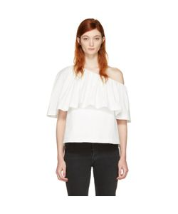 Edit | Single-Shoulder Ruffle Blouse