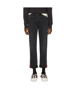 Gucci | Tapered Web Jeans