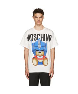 Moschino | Transformers Teddy Logo T-Shirt