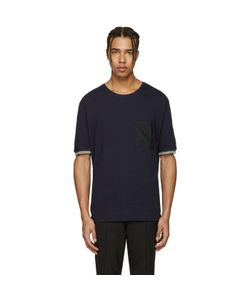 Lanvin | Pocket Stripe T-Shirt