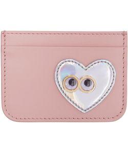 Sophie Hulme   Heart And Eyes Rosebery Card Holder