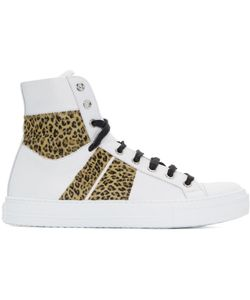 AMIRI | And Leopard Sunset High-Top Sneakers