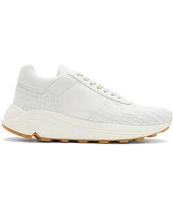 ETQ AMSTERDAM | Croc-Embossed Delta Sneakers
