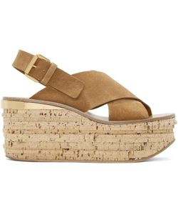 Chloe | Camille Wedge Sandals