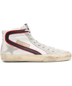 Golden Goose | Mesh Slide High-Top Sneakers