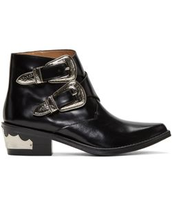 Toga Pulla | Two-Buckle Western Boots