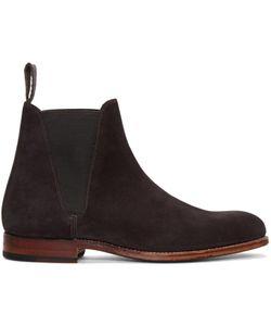 Grenson | Suede Nolan Boots